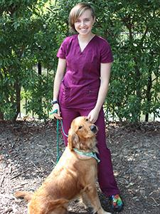 Natalie Lovelace - Super Star Intern - Meadowmont Animal Hospital